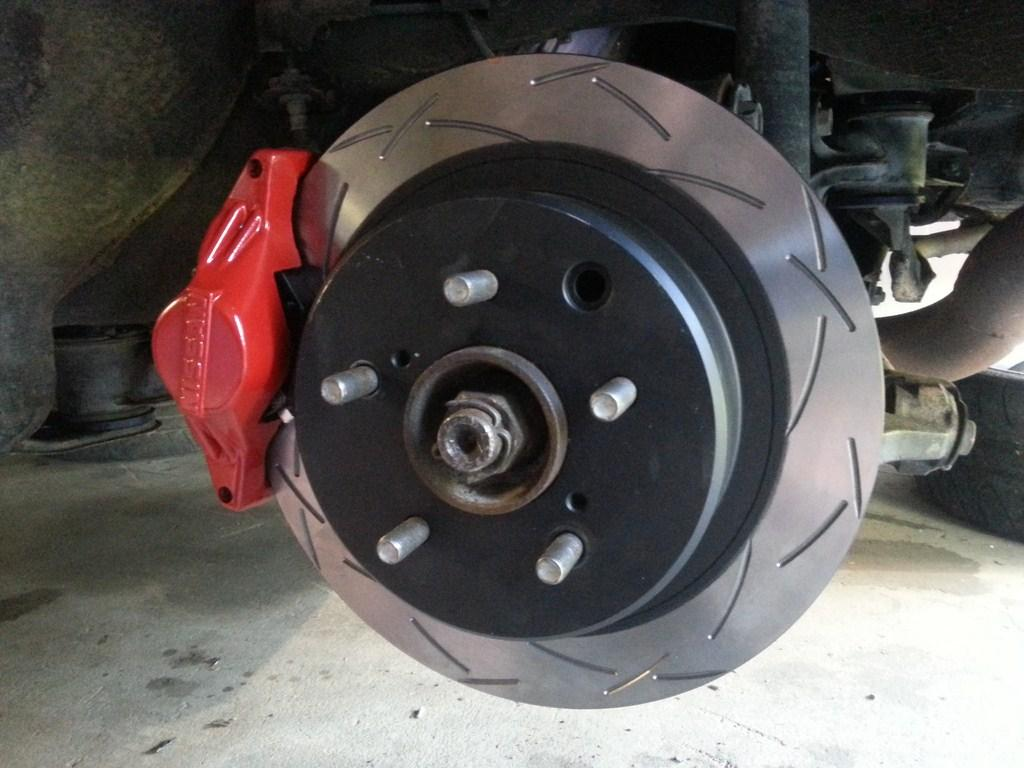Project 200sx Nissan S15 Rear Brakes Disc Brake System Braking Business Photo Gallery Click To Open Image