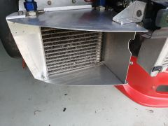 ducting oil cooler