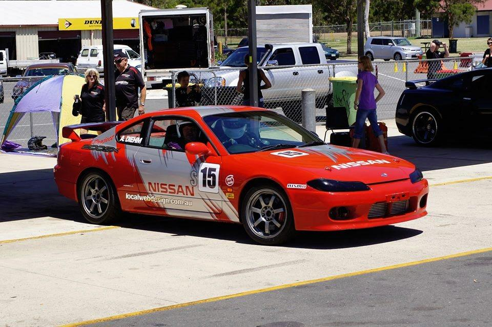 Red Nissan 200sx S15